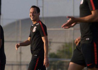 Rodriguinho - Treino do Corinthians
