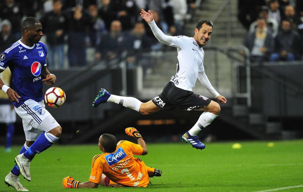 Rodriguinho - Corinthians x Millonarios