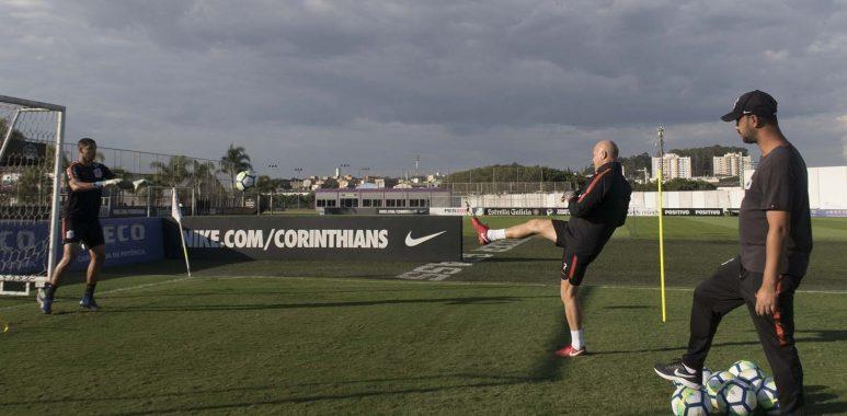 Treino Goleiros - Corinthians