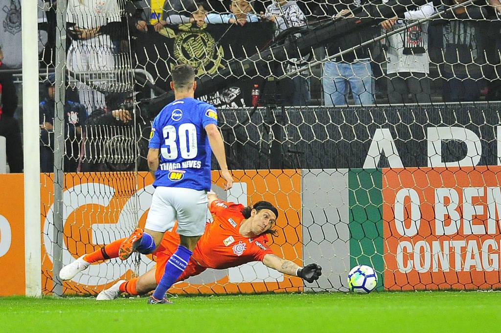 Cassio - Corinthians x Cruzeiro