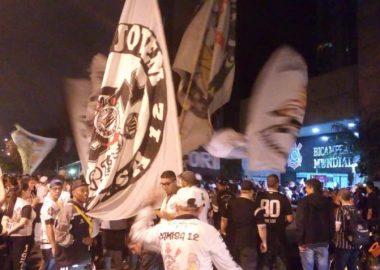 Protesto - Torcida do Corinthians