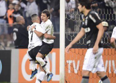 Romero - Gol - Corinthians 2 x 0 Botafogo