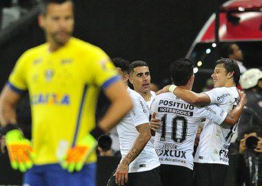 Romero - Gol - Corinthians 2 x 0 Cruzeiro