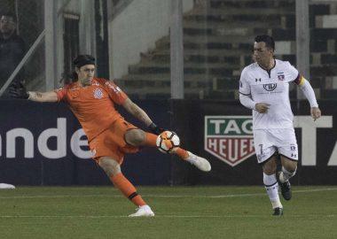 Cassio - Colo-Colo x Corinthians