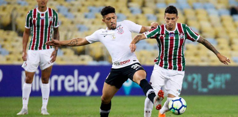 Douglas - Fluminense x Corinthians