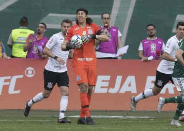 Cássio - Palmeiras x Corinthians