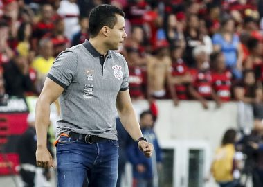 Jair Ventura - Flamengo x Corinthians
