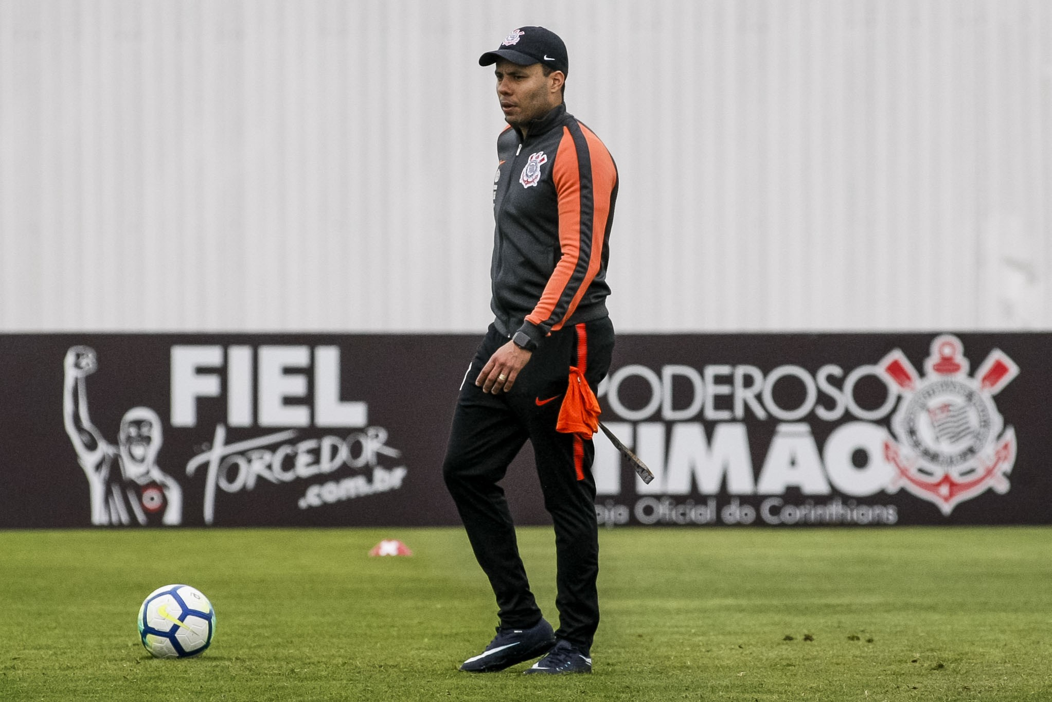 Jair Ventura - Treino do Corinthians