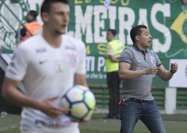 Mantuan - Jair Ventura - Palmeiras x Corinthians