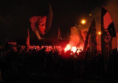 Torcida - Onibus do Corinthians