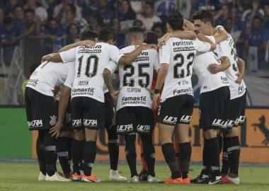 Jogadores do Corinthians - Final Copa do Brasil 2018