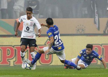 Pedrinho - Corinthians x Cruzeiro