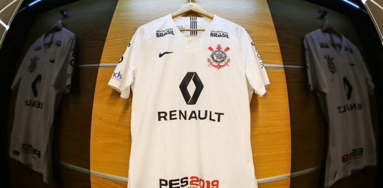 Com patrocínio master, Corinthians divulga uniforme para a decisão