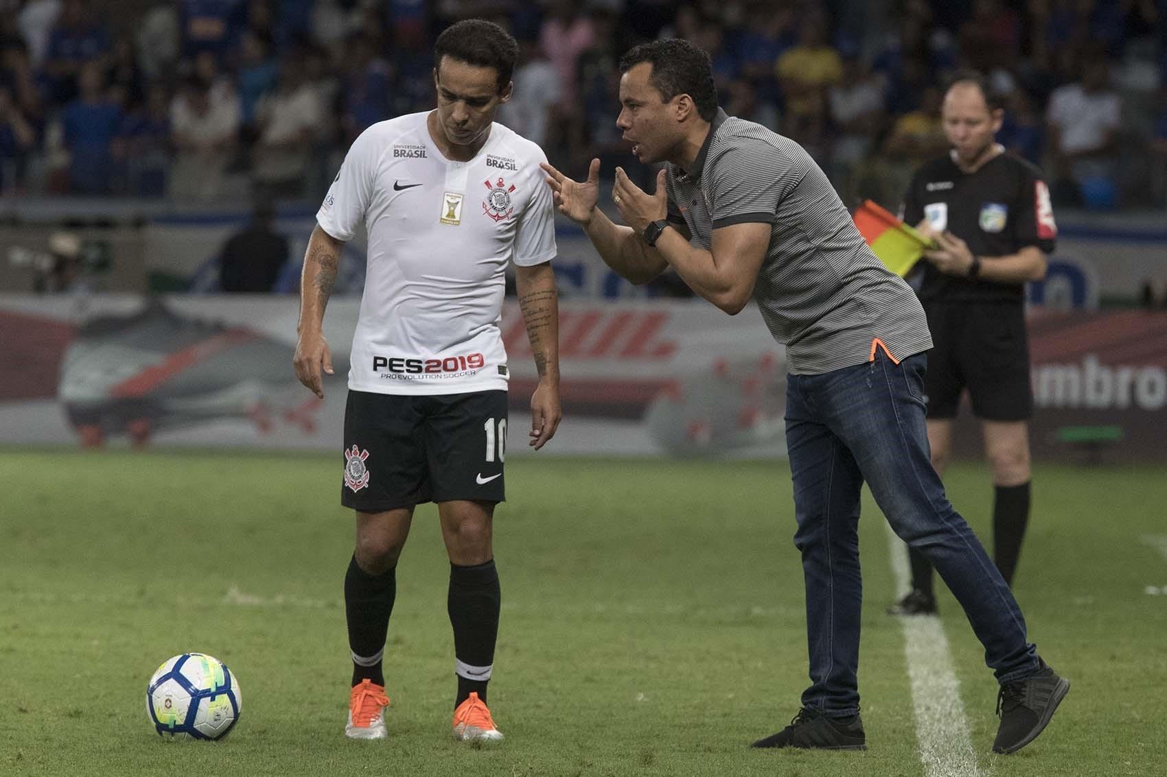 Jair Ventura - Jadson - Cruzeiro x Corinthians