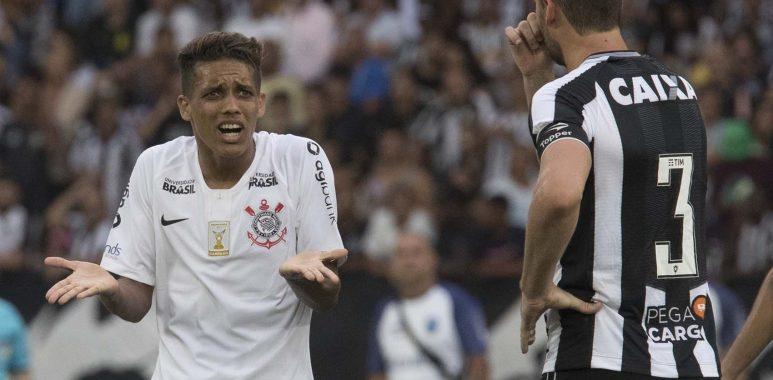 Pedrinho - Botafogo 1 x 0 Corinthians