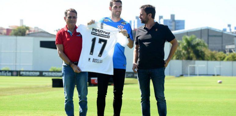 Boselli - Apresentação no Corinthians