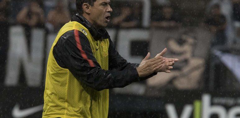 Fábio Carille - Corinthians x Ponte Preta