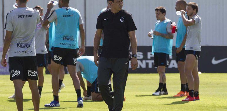 Fabio Carille - Sornoza - Corinthians