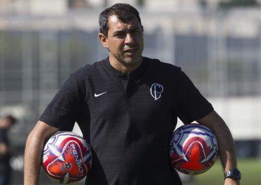 Fabio Carille - Treino Corinthians