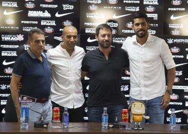 Jorge Kalil - Emerson Sheik - Duilio Monteiro - Vilson Menezes - Corinthians