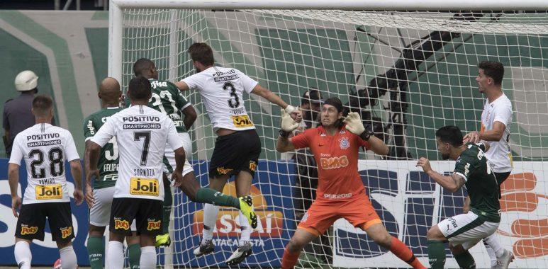 Bola aérea - Corinthians x Palmeiras