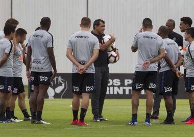 Fábio Carille - Jogadores do Corinthians