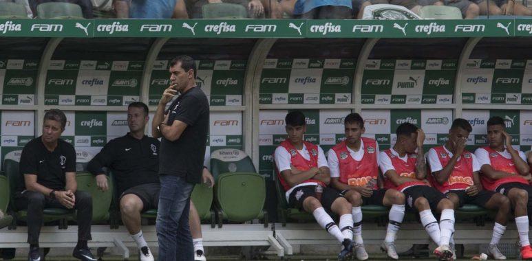Fabio Carille - Palmeiras 0 x 1 Corinthians