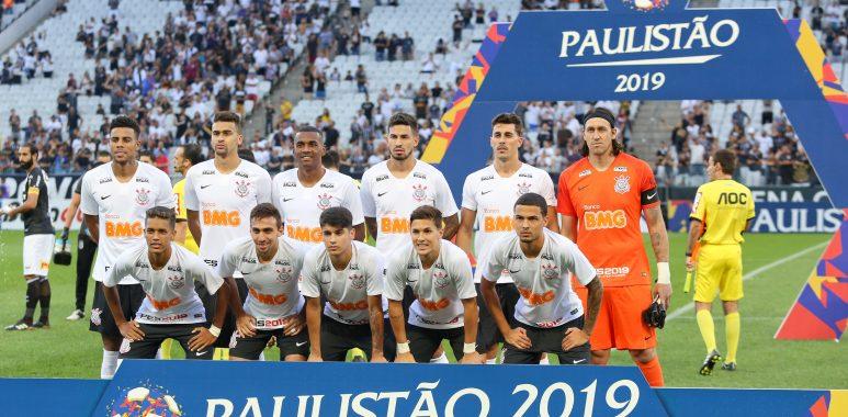 Jogadores do Corinthians no Paulistão 2019