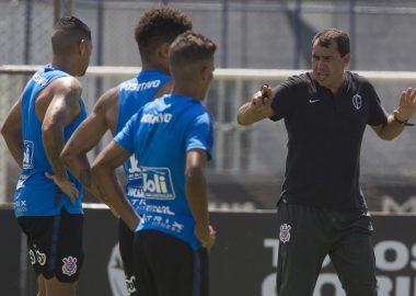 Fabio Carille - Treino do Corinthians