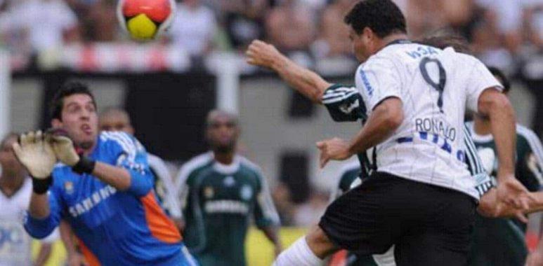 Primeiro Gol de Ronaldo pelo Corinthians