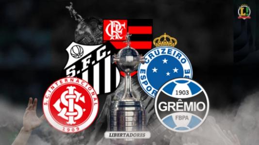 Arte - Corrida pela Libertadores