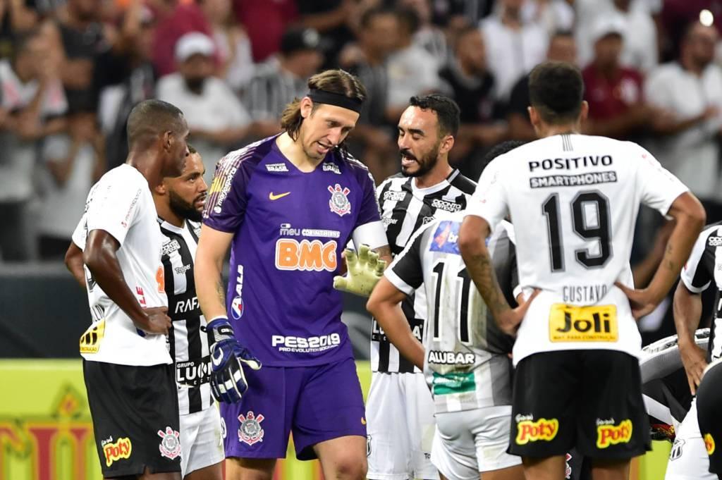 Cassio - Corinthians x Ceará