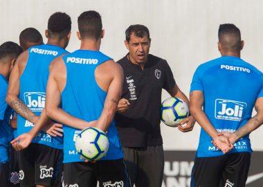 Fabio Carille - Jogadores do Corinthians