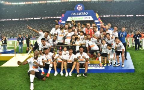Corinthians x São Paulo - Comemoração