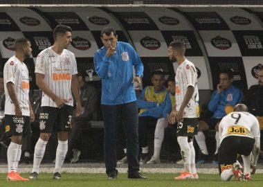 Fábio Carille - Jogo - Corinthians 1 x 0 São Paulo