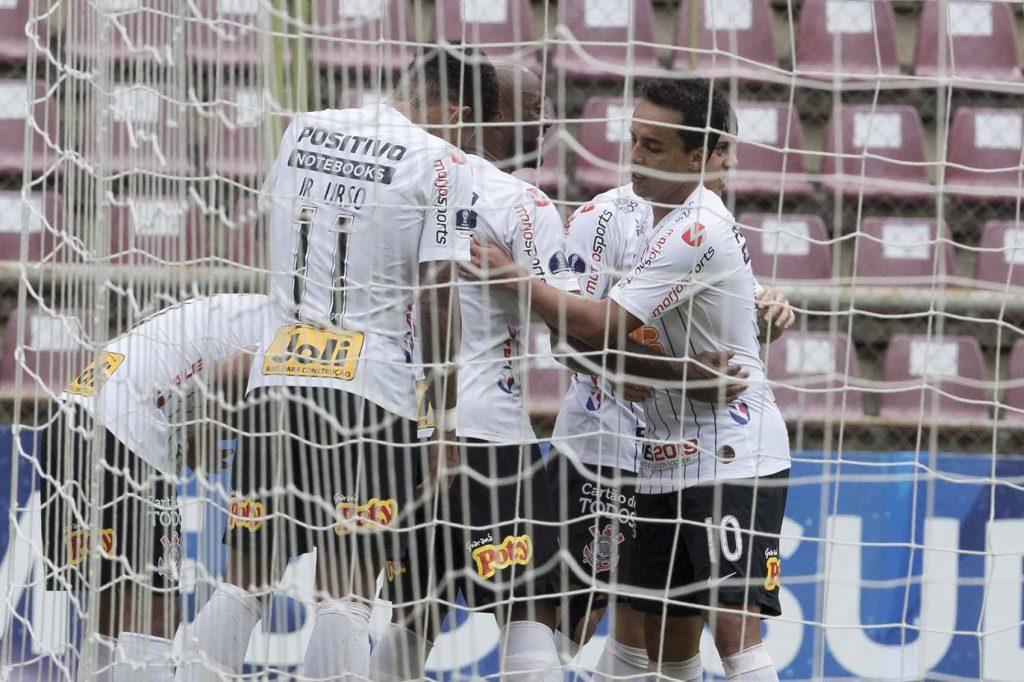 Gol - Sornoza - Deportivo Lara 0 x 2 Corinthians