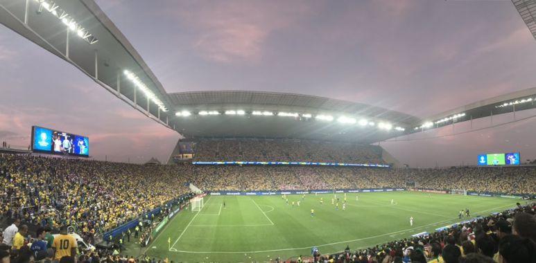 Arena Corinthians - Brasil x Peru
