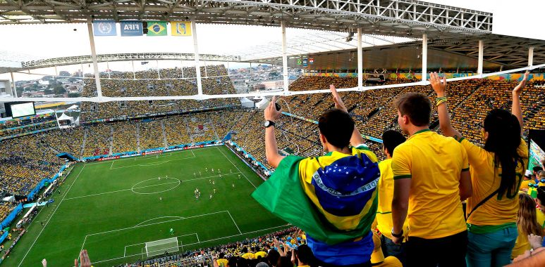 Arena Corinthians - Jogo do Brasil