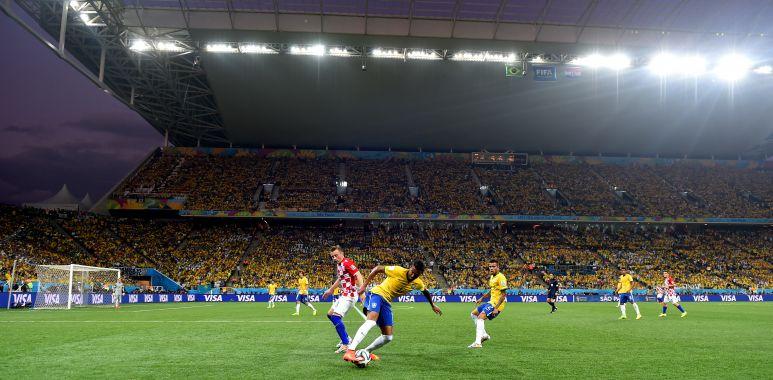 Brasil x Croacia - Copa do Mundo 2014
