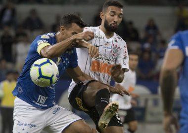 Clayson - Jogo Cruzeiro 0 x 0 Corinthians - Brasileirão 2019