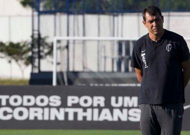 Fabio Carille - Treino do Corinthians 24 de junho