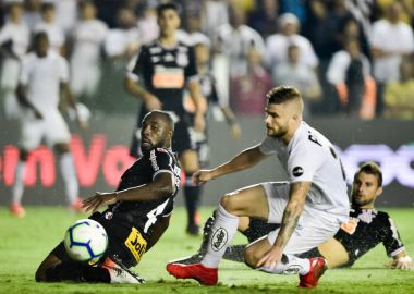 Manoel - Santos 1 x 0 Corinthians - Brasileirão 2019