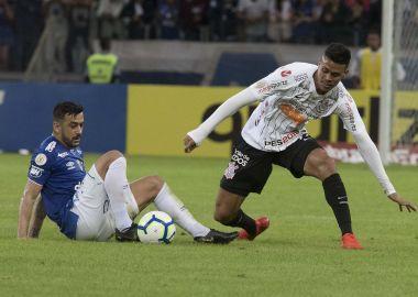Richard durante Cruzeiro x Corinthians