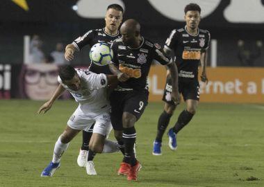 Vagner Love - Santos 1 x 0 Corinthians