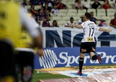 Boselli - Gol - Fortaleza 1 x 3 Corinthians