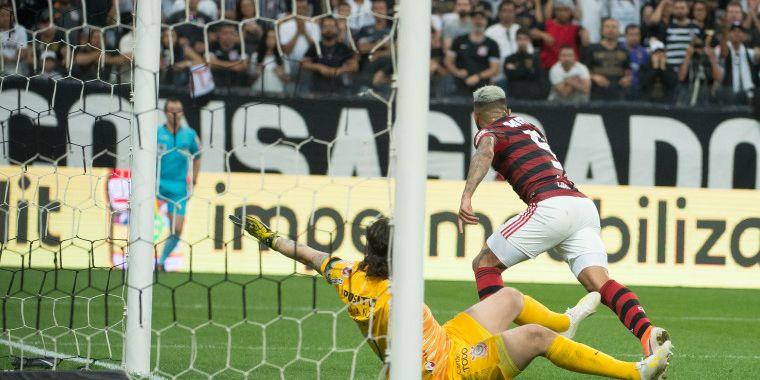 Cassio - Corinthians 1 x 1 Flamengo