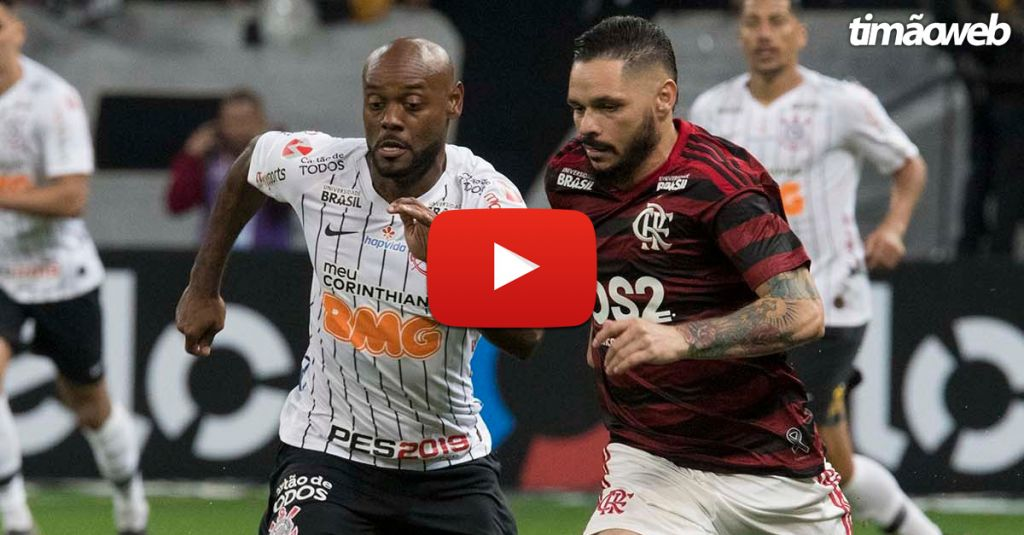 Corinthians Flamengo Ao Vivo Brasileirão 2019