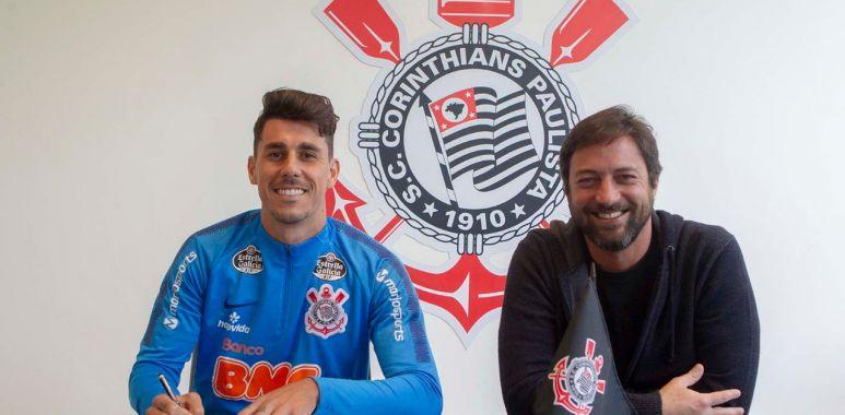 Danilo Avelar - Novo contrato com o Corinthians
