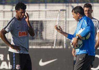 Gil - Fabio Carille - Treino do Corinthians