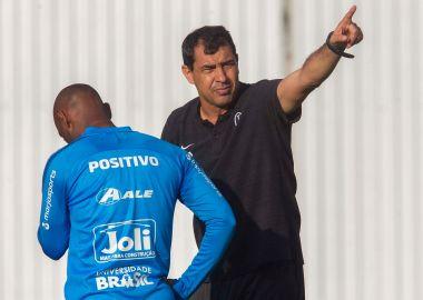 Fabio Carille - Preparação para Corinthians x Flamengo